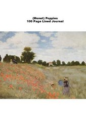 (Monet) Poppies 100 Page Lined Journal