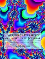 Pattern 7 Oversized 200 Page Lined Journal | Jmm Shepperd |