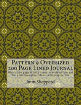 Pattern 9 Oversized 200 Page Lined Journal | Jmm Shepperd |