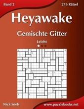 Heyawake Gemischte Gitter - Leicht - Band 2 - 276 Ratsel