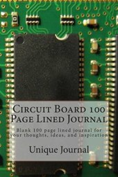 Circuit Board 100 Page Lined Journal