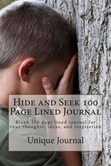 Hide and Seek 100 Page Lined Journal | Unique Journal |