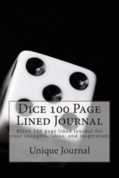 Dice 100 Page Lined Journal