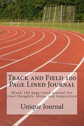 Track and Field 100 Page Lined Journal