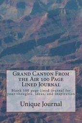 Grand Canyon from the Air 100 Page Lined Journal