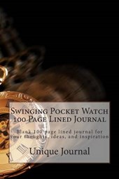 Swinging Pocket Watch 100 Page Lined Journal