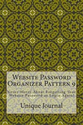 Website Password Organizer Pattern