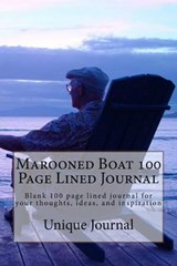 Marooned Boat 100 Page Lined Journal | Unique Journal |