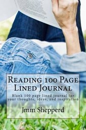 Reading 100 Page Lined Journal