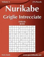 Nurikabe Griglie Intrecciate - Difficile - Volume 4 - 276 Puzzle