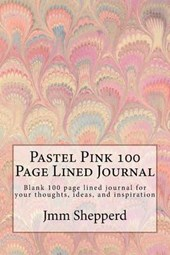 Pastel Pink 100 Page Lined Journal