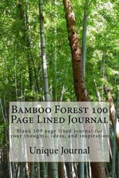 Bamboo Forest 100 Page Lined Journal