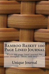 Bamboo Basket 100 Page Lined Journal