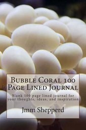 Bubble Coral 100 Page Lined Journal