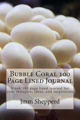 Bubble Coral 100 Page Lined Journal | Jmm Shepperd |