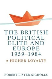 British Political Elite and Europe, 1959-1984