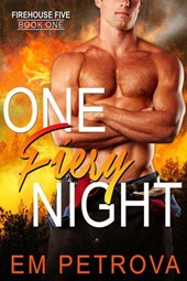 One Fiery Night (Firehouse 5, #1)