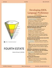 Developing ESOL Language  Proficiency (Fourth Estate)