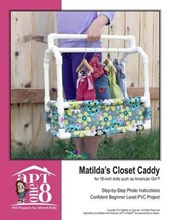Matilda's Closet Caddy for 18-inch Dolls