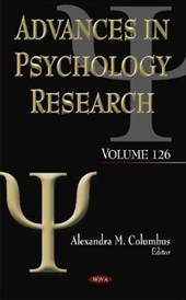 Advances in Psychology Research | Alexandra M. Columbus |