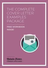 The Complete Cover Letter Examples Package | Natalie Fisher |