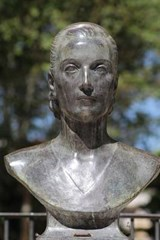 A Bust of Eva Peron in Argentina | Unique Journal |