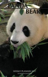 Panda Bear 2017 Weekly Planner