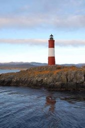 Les Eclaireurs Lighthouse in Ushuaia, Argentina