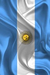 The National Flag of Argentina