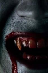 Bloody Teeth of a Vampire
