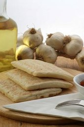 Flat Bread and Olive Oil