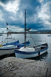 Boats in Tsarevo Harbour Bulgaria Journal