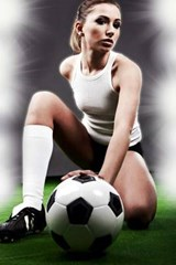 Girls Love Soccer | Unique Journal |