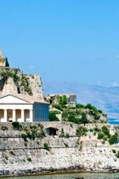 Greek Temple on the Coast of Corfu, for the Love of Travel