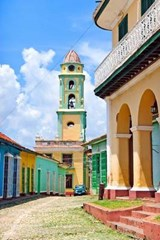 Colorful Street in Trinidad Cuba Journal | Cool Image |