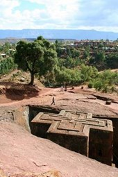 St George Church in Lalibela Ethiopia Journal