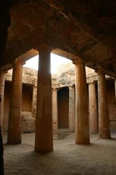 Tombs of the Kings on Cyprus Journal