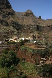 Village in the Mountains of Cape Verde Journal