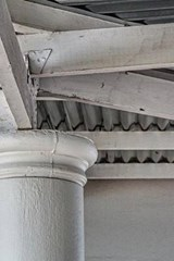 Exposed Whitewashed Beams, for the Love of Architecture | Unique Journal |