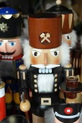 Nutcrackers on Display in Germany