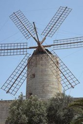 Website Password Organizer a Windmill Made of Stone