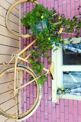 Website Password Organizer Old Bike Turned Into a Planter | Unique Journal |