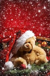 Christmas Teddy Bear Journal