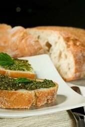 Ciabatta Bread with Pesto Journal