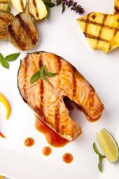 Grilled Teriyaki Salmon Steak Journal