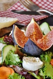 Delicious Fig Salad, for the Love of Food
