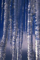 Icicles and Blue Sky Journal