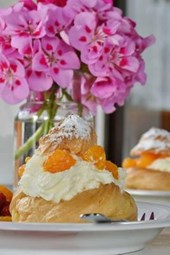 Delicious Orange Cream Puff Pastry, for the Love of Food