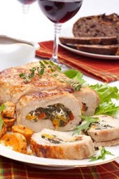 Pork Tenderloin Roulade Journal