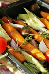 Delicious Vegetables in the Pan, for the Love of Food | Unique Journal |